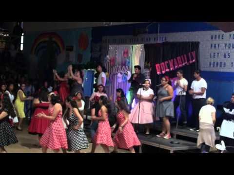 El Rancho High School ERHS 2015 Night Pep Rally - Choir
