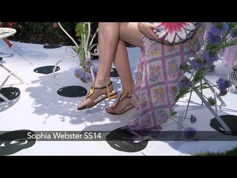 Sophia Webster London Fashion Week show: Sophia Webster SS14 Collection