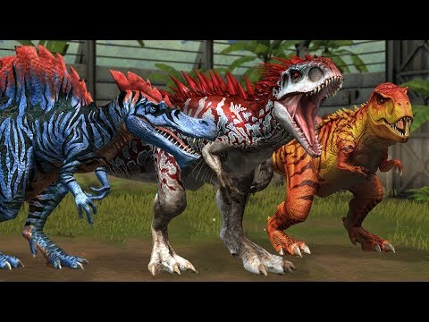 Top 10 Dinosaurs In Jurassic World The Game
