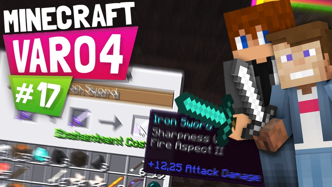 Dner skin  MINECRAFT VARO 4 #17 | 12,25 ATTACK DAMAGE! (2. Bestes Schwert in ...