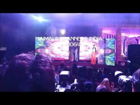 LED SPLIT JAIMALA THEME with DJ SETUP +919891064114