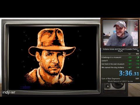 Indiana Jones and the Last Crusade (Taito) WR!!! (3:36.166) |