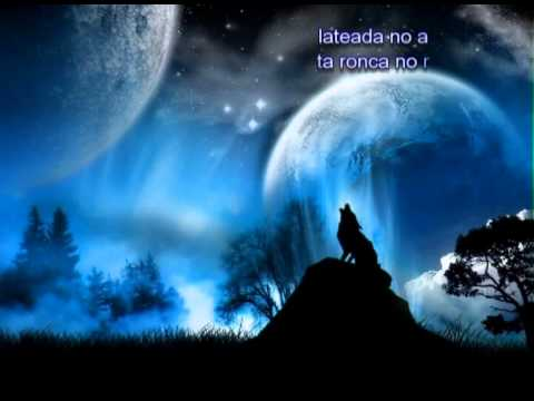 El lobo que aullaba a la luna - YouTube