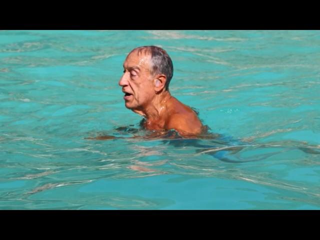 Presidente da República cumpriu e veio mergulhar a Cardigos e Fernandaires