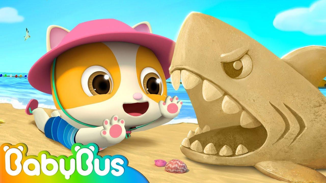 Playtime on the Beach ⛅🌴 | Beach Song | Nursery Rhymes | Kids Songs | BabyBus