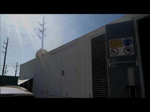Used JENBACHER 1000 KW Natural Gas Portable Power Module 100150