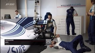 F1 2017 Career Mode Part 48 Spa Francorchamps Car setup R&D Practice & Quali
