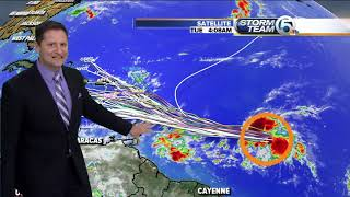 Tuesday morning tropics update (9/25/18)