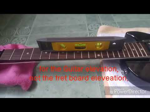 Guitar FRET LEVELING and fret crowning DIY LES PAUL SPECIAL