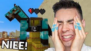STRACIŁEM mojego Minecraftowego Konia...
