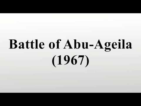 Battle of Abu-Ageila (1967)