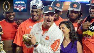 Dabo Swinney On Preparing For Alabama | Fiesta Bowl Recap
