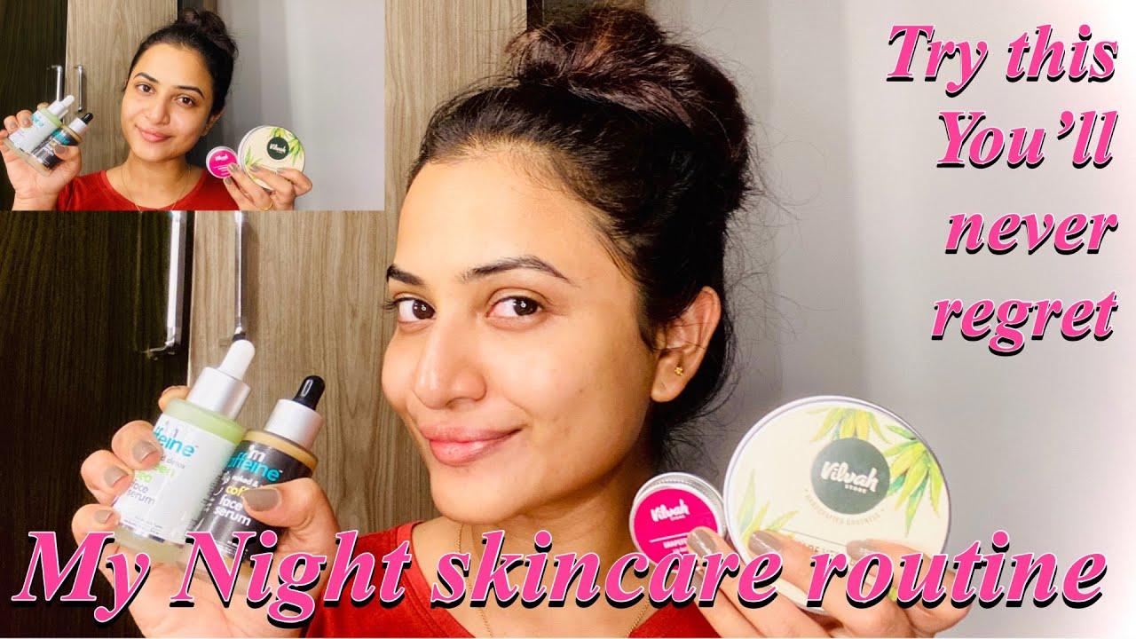 My Night Skin Care Routine (Updated) - #JananiAshokkumar