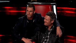 watch blake shelton and adam levine try and fail to play nice in real housewives spoof