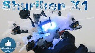 ✔ Снежный день - Тест FPV Квадрокоптера Holybro Shuriken X1!