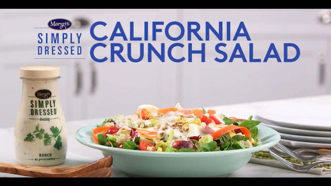 Simply Dressed® California Crunch Quinoa Salad Recipe- Marzetti ...