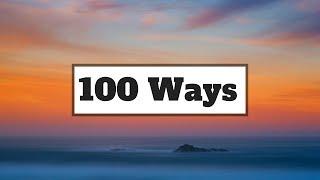 Zhavia Ward - 100 Ways (Lyrics) | Panda Music