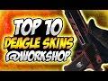CS:GO TOP 10 DESERT EAGLE (DEAGLE) SKINS @WORKSHOP!