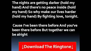 Akon - Hold My Hand Lyrics