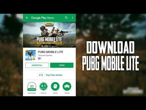 pubg mobile lite download play store