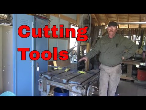 Cutting tools for the blacksmith, hardies, saws, chisels and shears
