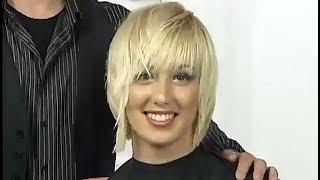 Женская стрижка каскад (лесенка, стрижка слоями) на короткие и средние волосы