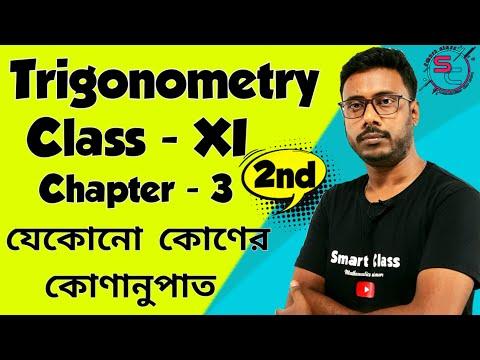 Trigonometric Functions Of Associated Angles || Part - 2 ||  Trigonometry Class 11 || Chapter 3