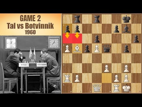 Sorry Capablanca, this is Modern Chess | Tal vs Botvinnik 1960. | Game 2