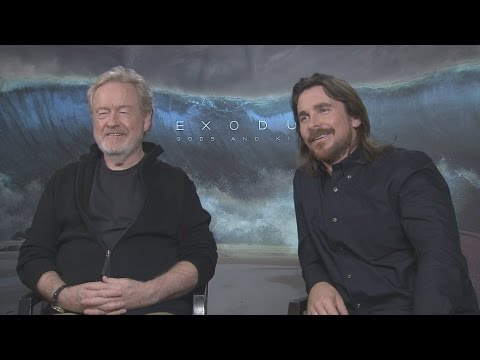Ridley Scott and Christian Bale Interview: Exodus: Gods and Kings and More