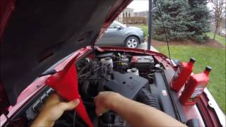 Changing The Oil In A 2011 Ford Ranger