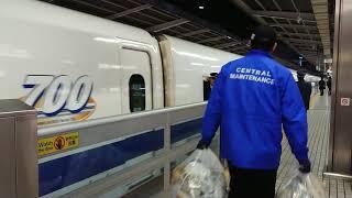 【東海道新幹線】名古屋駅 「こだま」682号発車【700系】