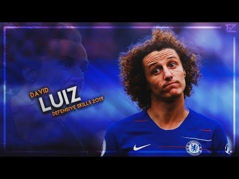 David Luiz 2019 ▬ Chelsea Wall ● Crazy Tackles, Passes & Goals - HD