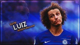 Gambar cover David Luiz 2019 ▬ Chelsea Wall ● Crazy Tackles, Passes & Goals - HD