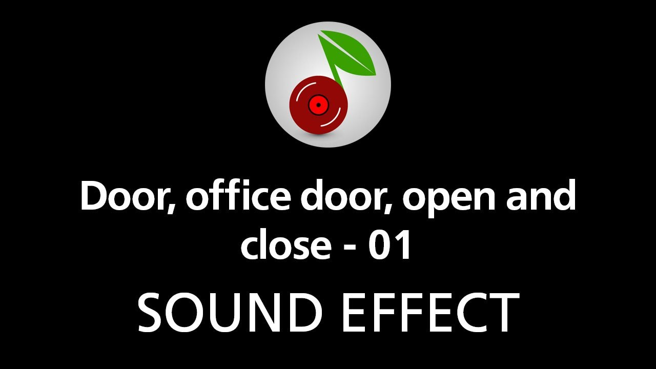 Door office door open and close 01 sound effect youtube for Door opening sound effect