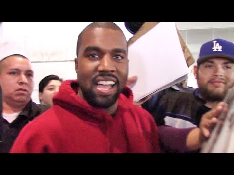 Kanye West Returns Home Smiling Big About Kim's Nude Instagram Pic!