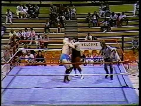 Tommy Rich vs Steve Lawler (SCW from Georgia Late '80s)