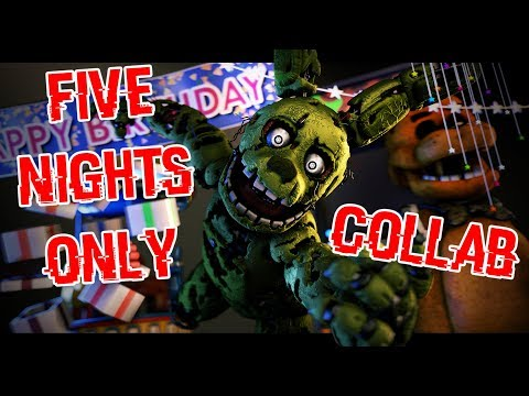 [SFM FNAF COLLAB] Five Nights Only - Roomie