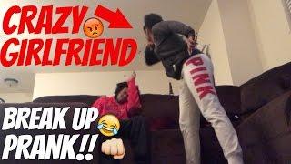 CRAZY BREAK UP GETS VIOLENT!!!! (PRANK)