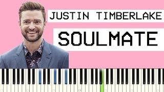 Download Lagu Justin Timberlake   Soulmate Piano Tutorial Mp3