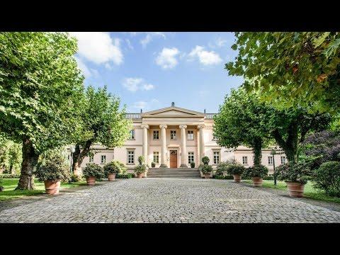 VON POLL IMMOBILIEN FRANKFURT: Herrschaftliches Anwesen im Park