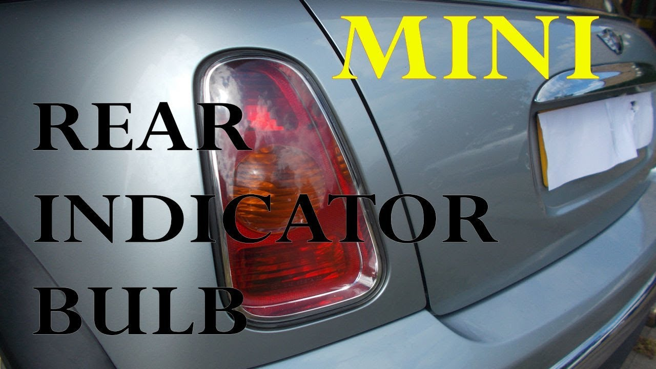 Mini Rear Indicator Bulb Change
