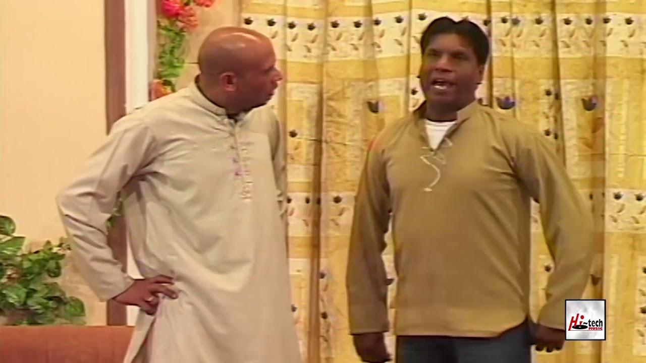 AMANAT CHAN LARKI BHAGA LAYA AKRAM UDAS - PUNJABI STAGE DRAMA COMEDY CLIP - HI-TECH PAKISTANI