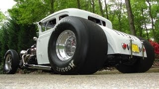 """NASTY HOT ROD * Pro Street Blown 31 Ford Model A """"COUPEZILLA"""" OPEN HEADERS * BY RONNIE MILLER"""