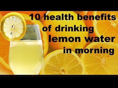 Drinking Lemon Water Every Morning Has Amazing Health Benefits | 10 Health Benefits Of Lemon Water