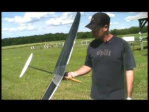 SALONIT F3K HLG R/C Glider Demo