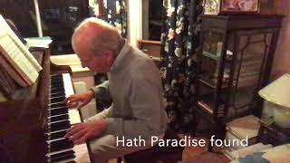 My God I am thine (Wesley) - arr. for piano by Peter Duckworth