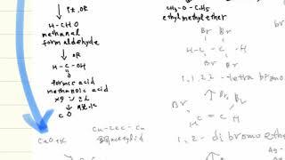 【写真速聴記憶法】有機化学をマインドマップで写真速聴記憶する。エタノール、エチレン編