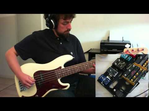 Nine Inch Nails   Only Bass Cover