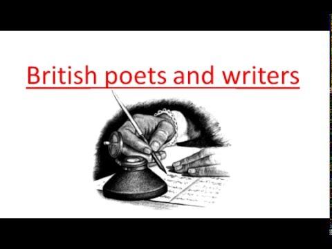 Британские писатели и поэты