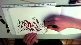 """Speed Drawing N°28 """"Zolek"""""""